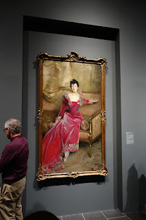 The Met:  John Singer Sargent portrait painting Hammersley