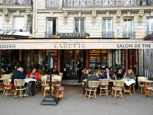 Le carnet parisien i carette - Salons de the a paris ...