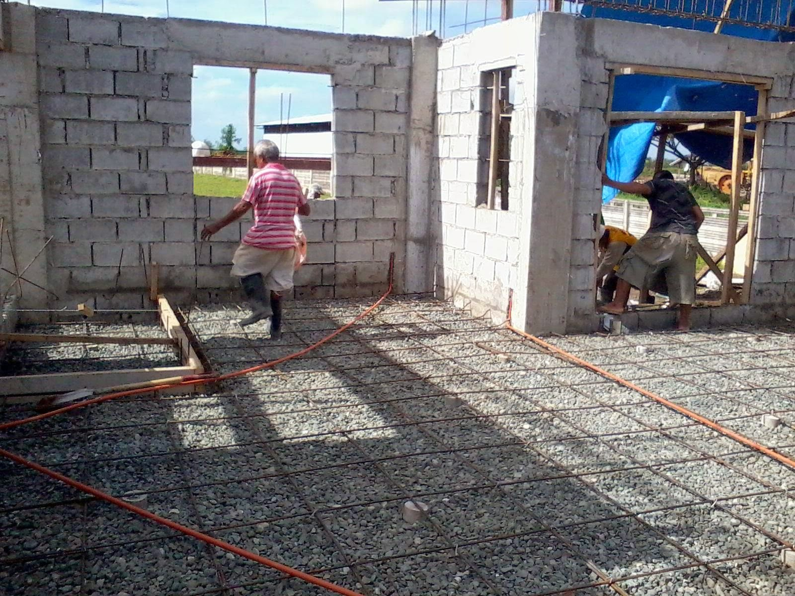 Savannah trails house construction project in oton iloilo for Cost of building a house in philippines