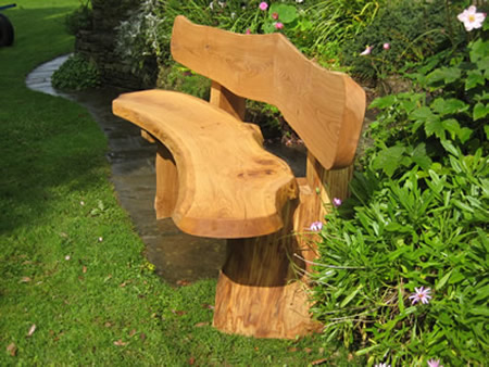 Unique Garden Benches Wooden