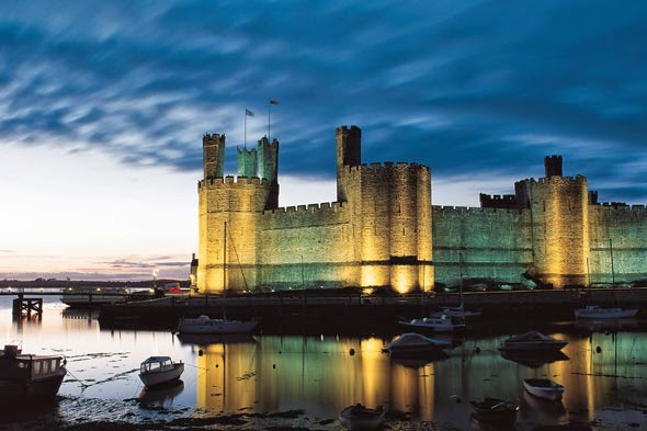 beautiful welsh castle