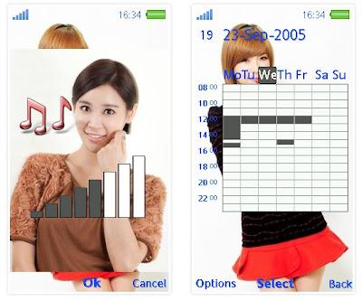 韓國組合Nine Muses SonyEricsson手機主題for Aino含多媒體﹝240x432﹞