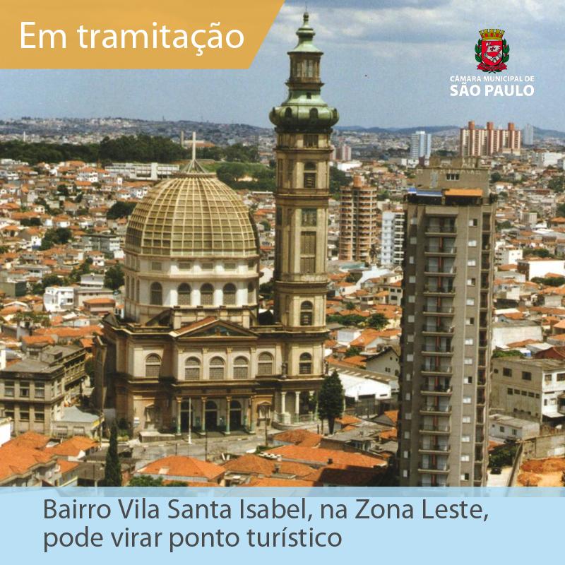 Vila Santa Isabel, Zona Leste de São Paulo, história de São Paulo, bairros de São Paulo, Monsenhor Ciro Turino, Vila Formosa, Vila Carrão
