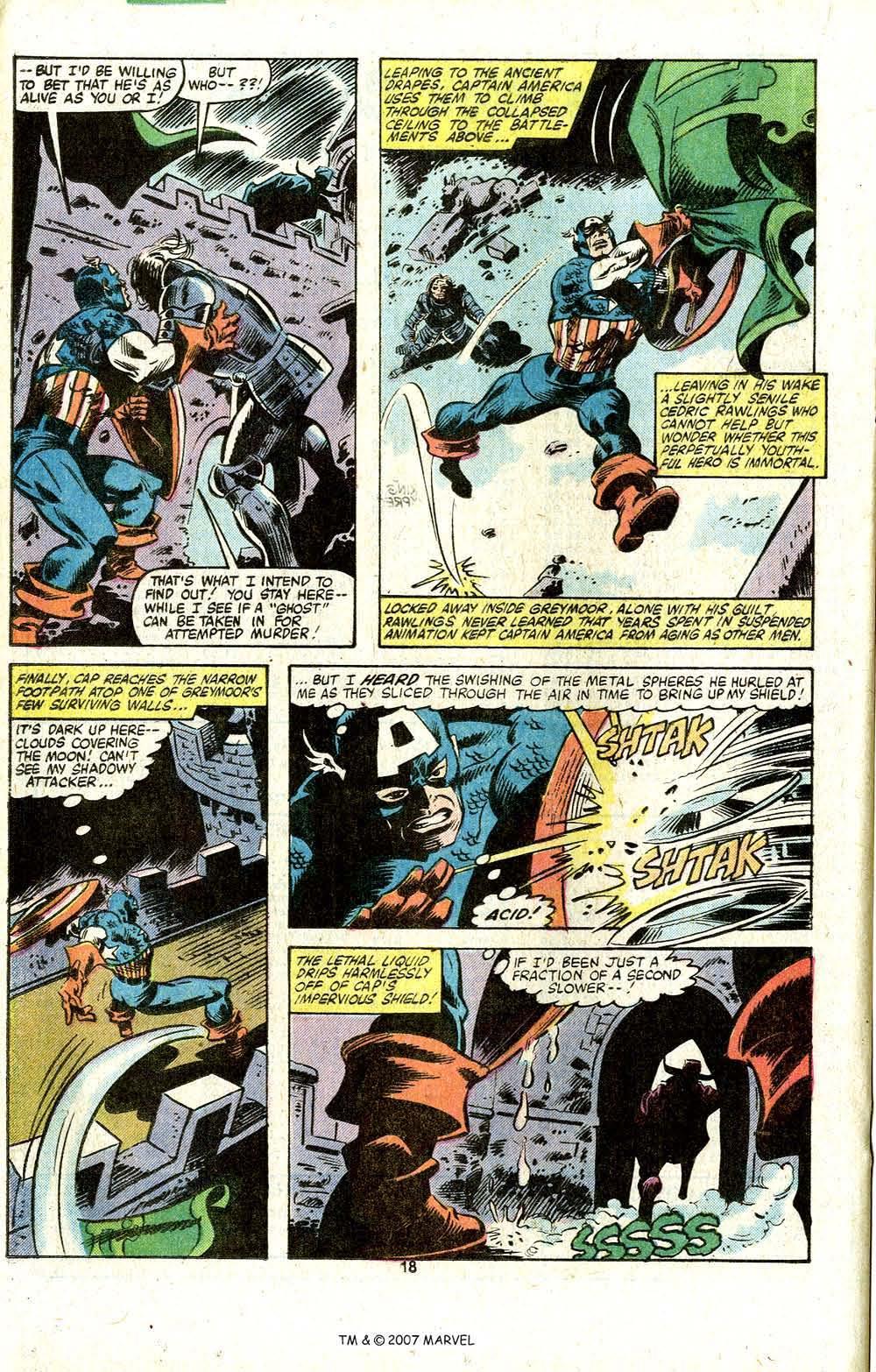 Captain America (1968) Issue #256 #171 - English 20