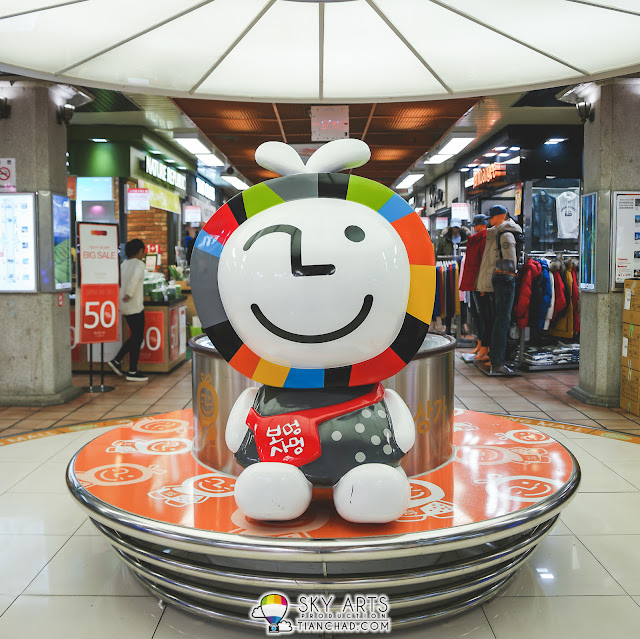 Mascot in Jungang  Underground Shopping Mall
