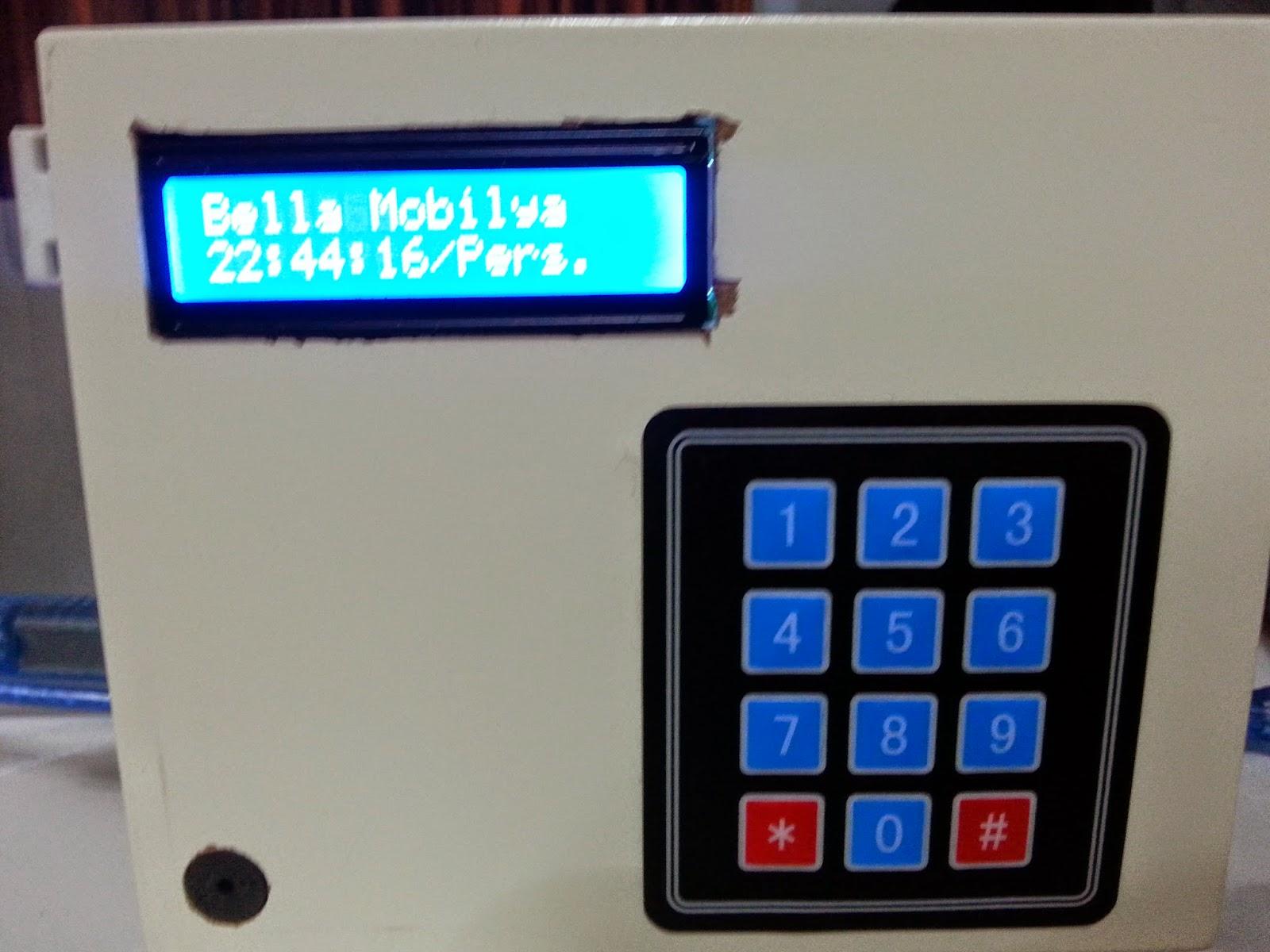 Arduino projeleri kütüphanesi Çalar saat uygulaması