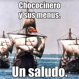 Chococinero y sus menus.