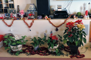 Oma and Opa's house – full of Christmas Decorations
