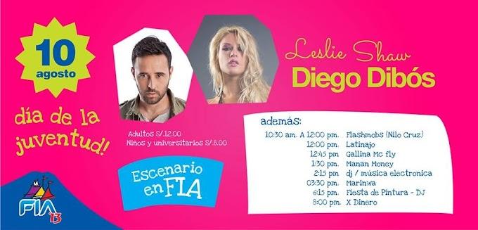 FIA 2013 - Día de la juventud - Leslie Shaw y Diego Dibós (10 agosto)