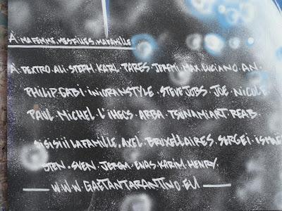 tarantino graffiti