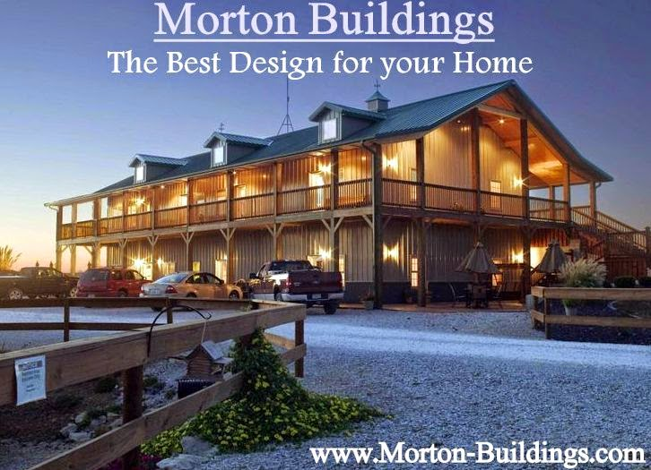 Morton buildings the best design for your home in your for Morton building cabin