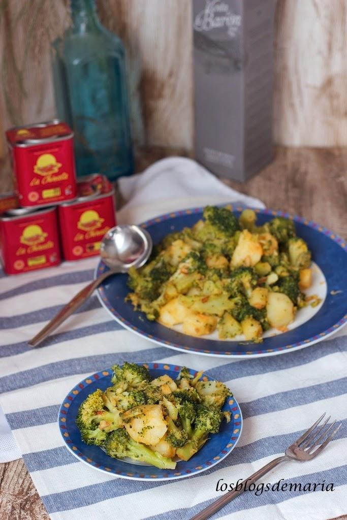 Brócolis con pimentón La Chinata