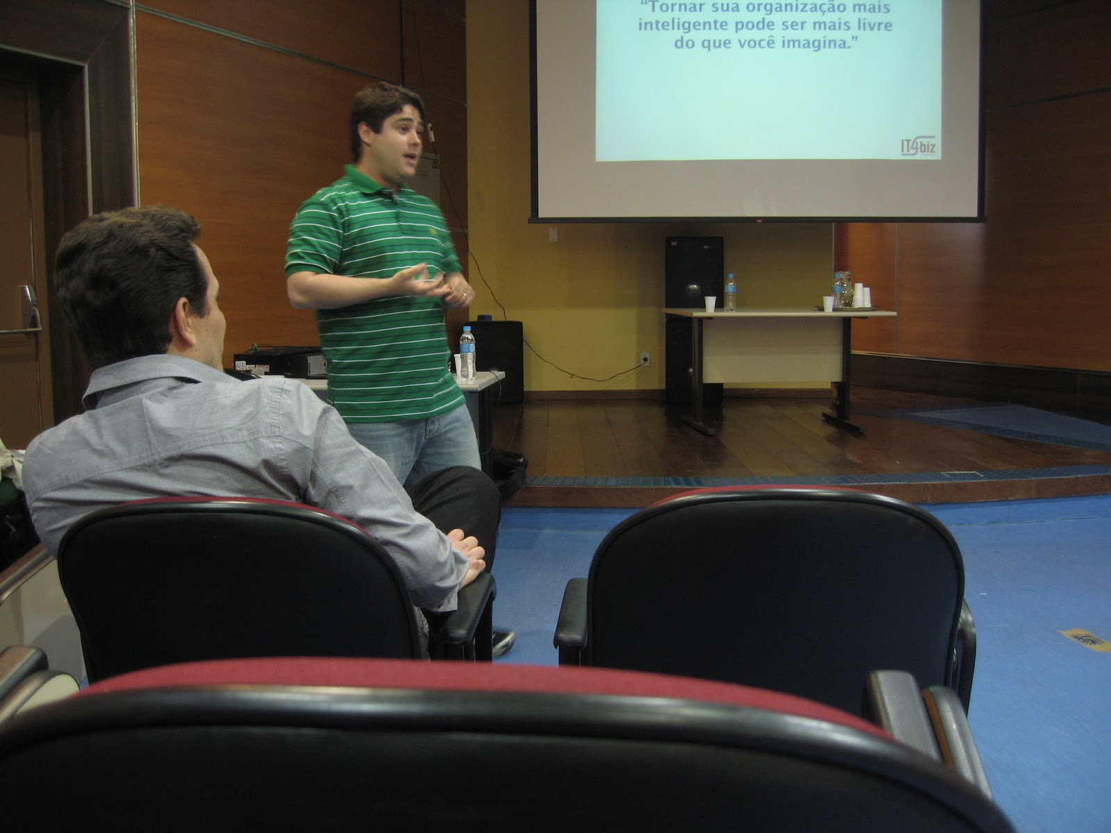 Palestra sobre BI Open Source @ USP