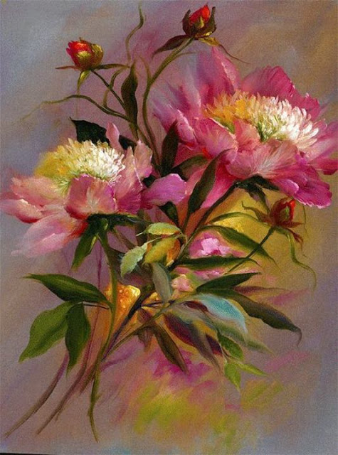 Maher art gallery gary jenkins american floral painter