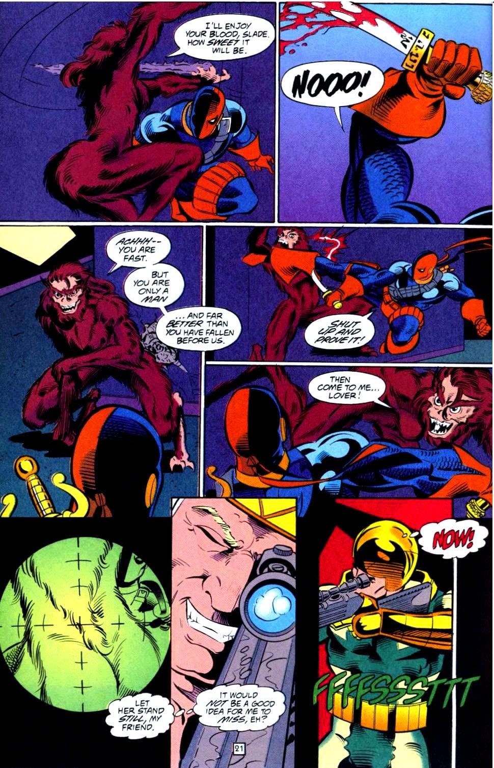 Deathstroke (1991) Issue #38 #43 - English 22