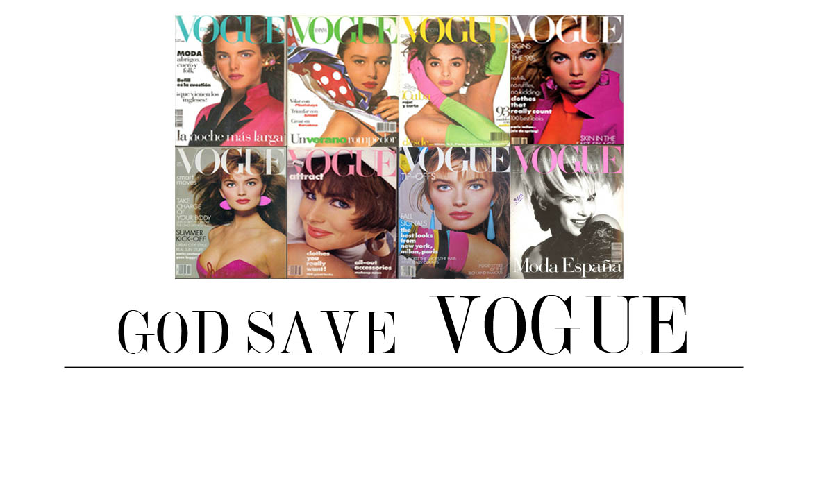 GOD SAVE VOGUE