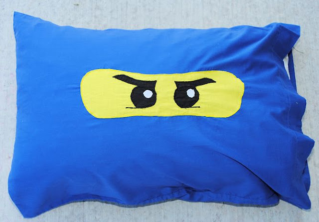Lego Ninjago Pillowcase Pattern