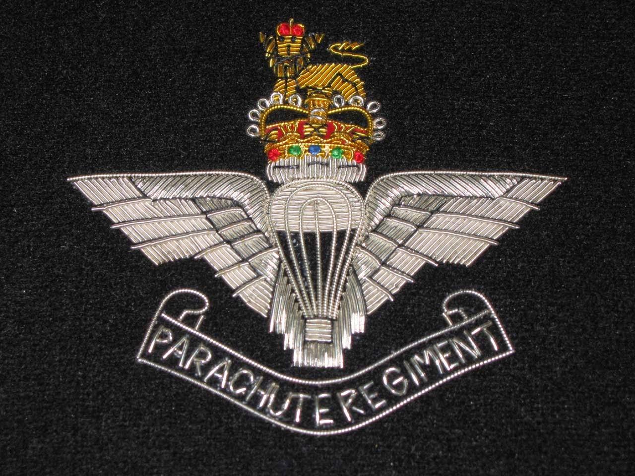 Regimiento británico de Paracaidistas