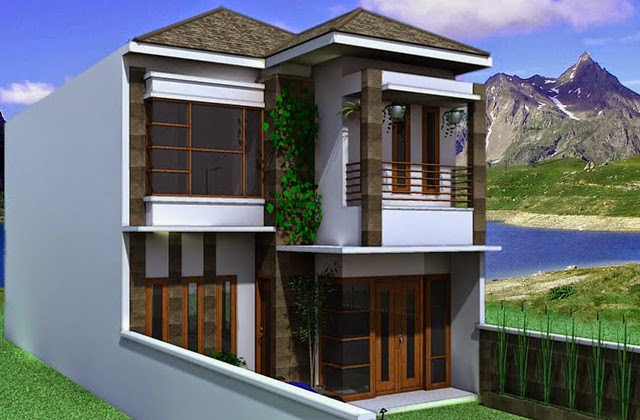 Desain Rumah Kecil Minimalis 2 lantai & Desain Rumah Kecil Minimalis 2 lantai terbaru 2017