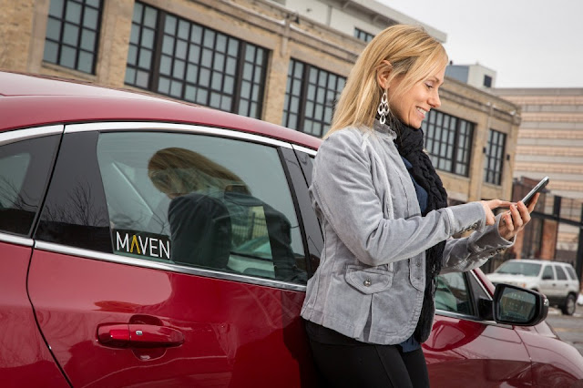 GM Launches a Car-Sharing Service Called Maven
