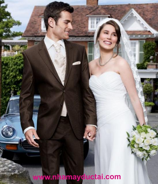 Vest cưới chú rể vải cotton hoặc lanh - NMĐT07