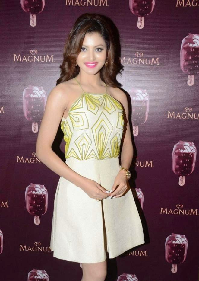 Urvashi Rautela Stills At MAGNUM Ice Cream Flavor Launch