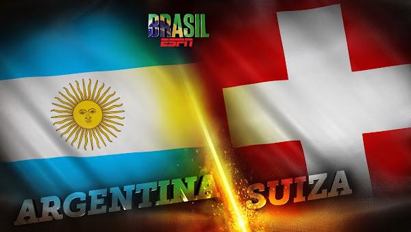 REPETICION SELECCIONES ARGENTINA VS SUIZA, Goles, Resultados, Estadisticas, Online