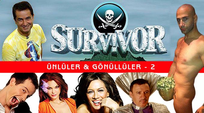 Survivor Yarışmasının Ünlüler-Gönüllüler bölümünün yenisi