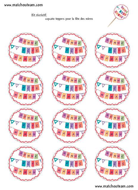 décoration de gâteaux fête des mères