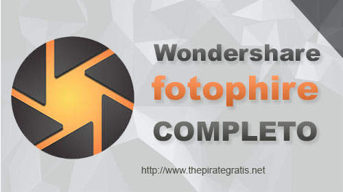 Wondershare Fotophire 2018