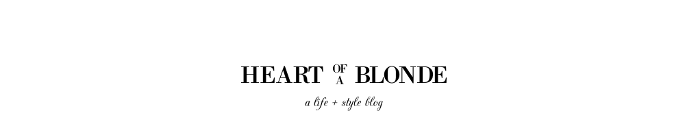 heart of a blonde.