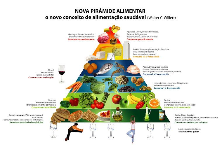 Um novo conceito para pirâmide alimentar