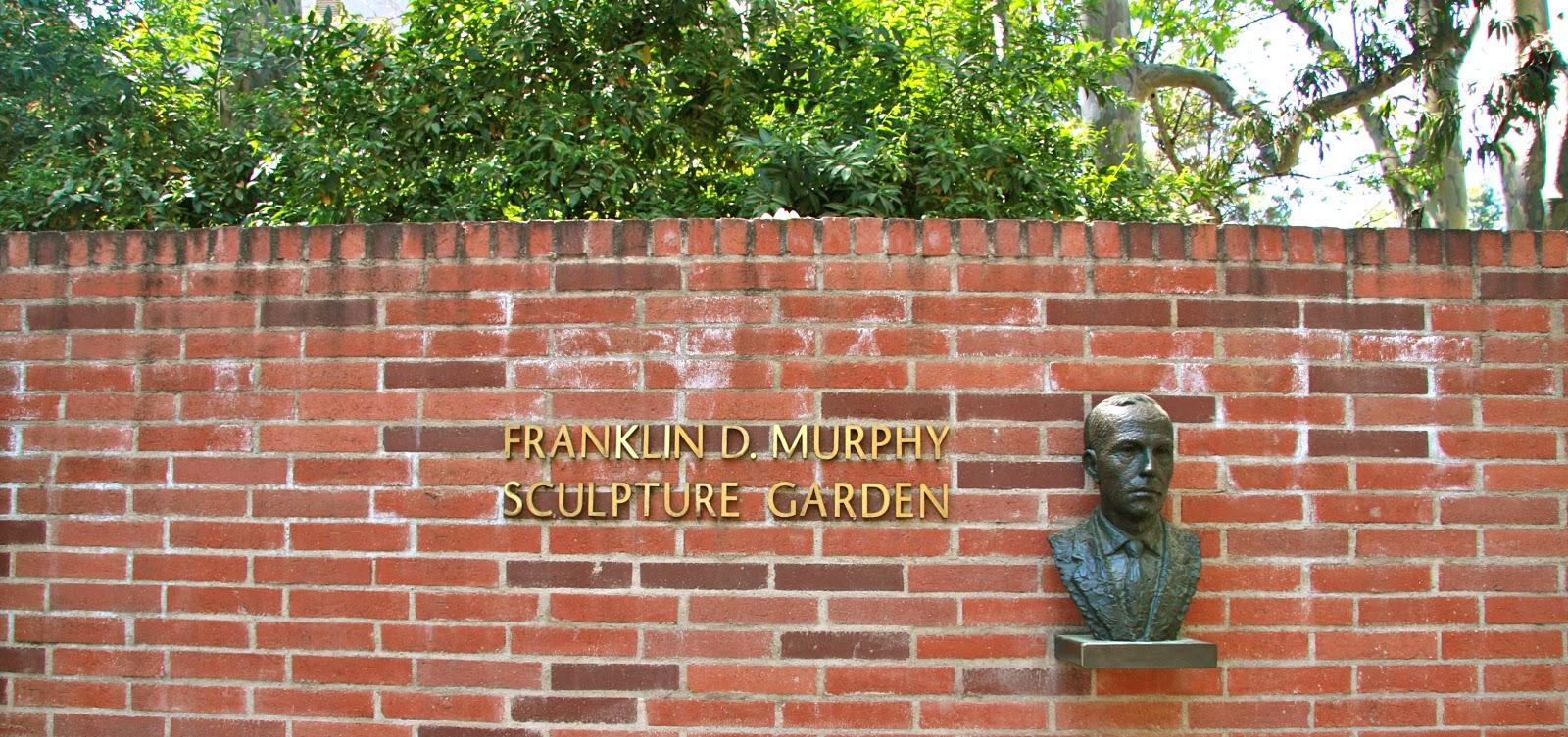 The Franklin D Murphy Sculpture Garden La To Z