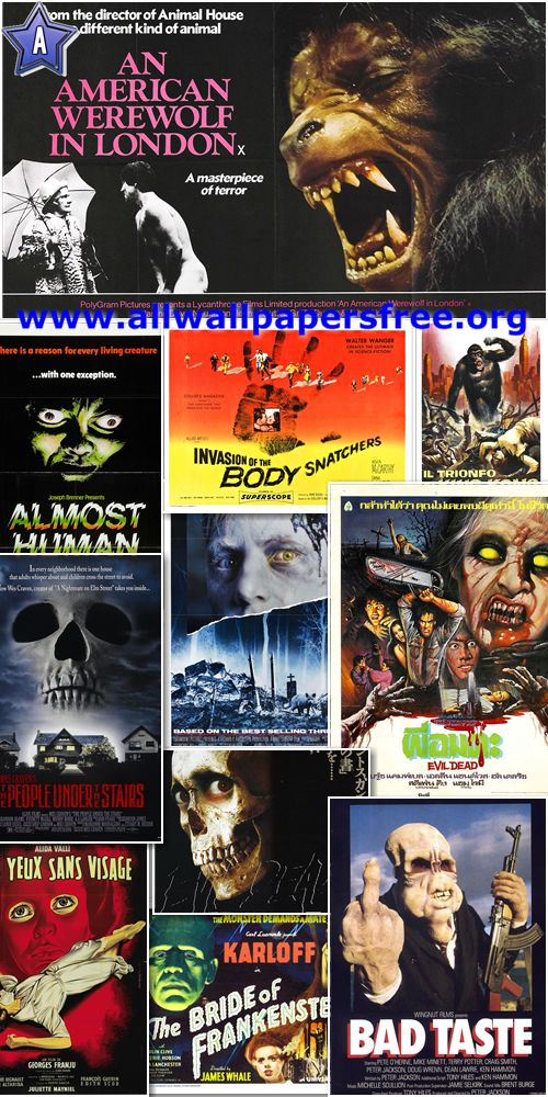 5800 Amazing Horror and B Movie Posters [Up to 5400 Px]