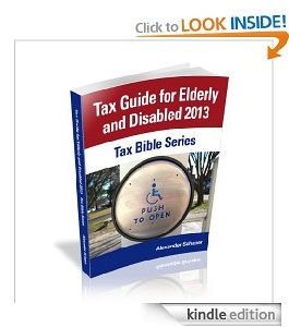 Free eBook Feature: Tax Guide for Elderly and Disabled 2013