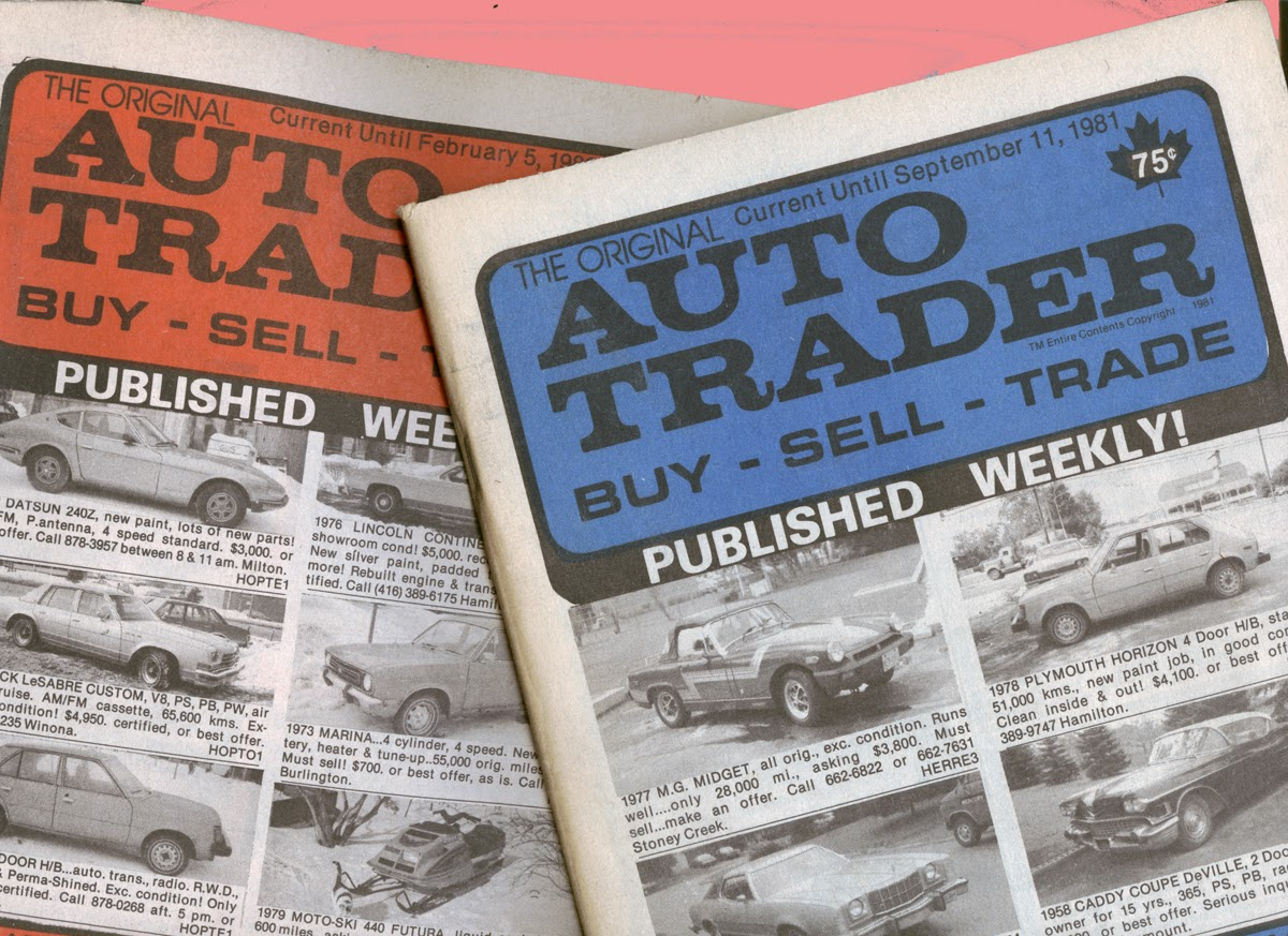 Ghosts of Auto Traders Past.... | phscollectorcarworld