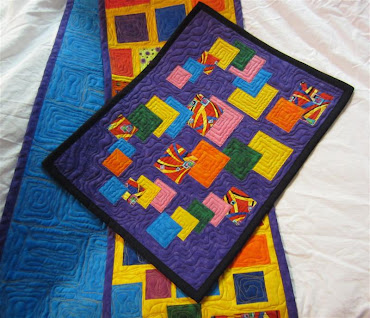 Click for First Challenge Project Quilting