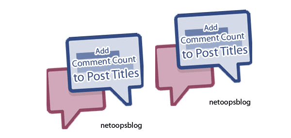 Add Comment count to Post Header Titles in Blogger