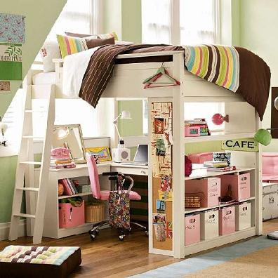 Trucos y grandes ideas para espacios peque os decorar tu - Habitaciones en espacios reducidos ...
