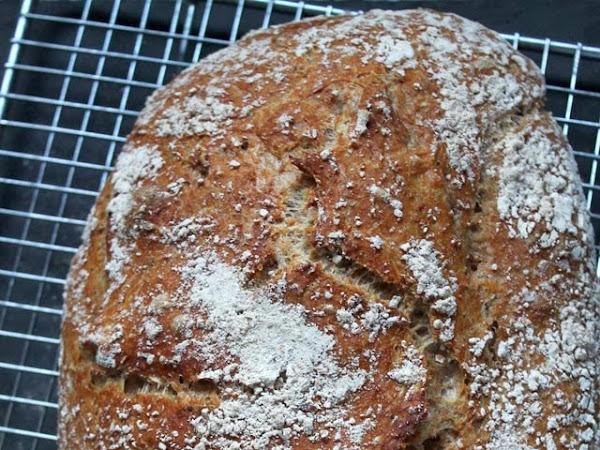 (Weihnachts-)Geschenke aus der Küche: No-Knead-Bread mit Dinkelmehl