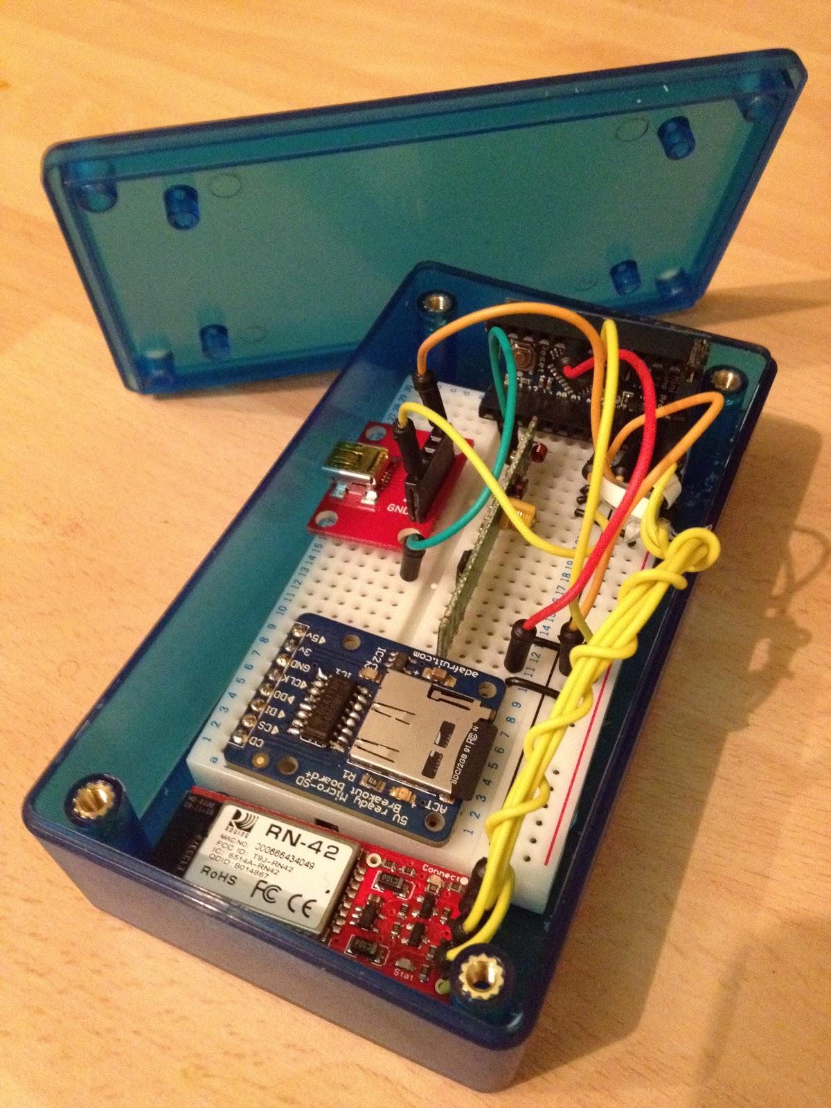 Mchr k arduino wireless sensor node enclosure mark