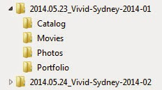 Philip Avellana, Australian Landscape Photographer, folder structure, workflow