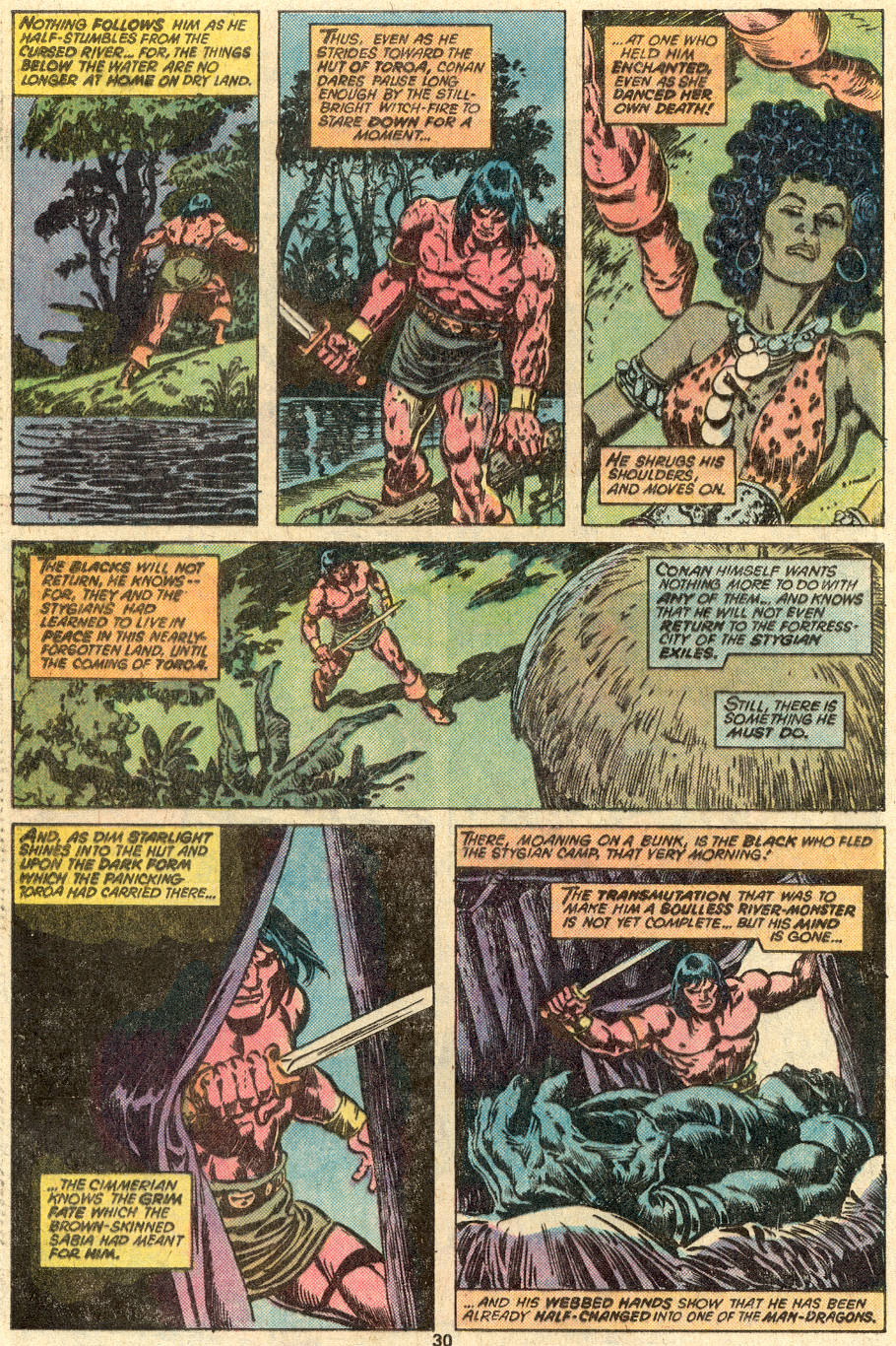 Conan the Barbarian (1970) Issue #83 #95 - English 19