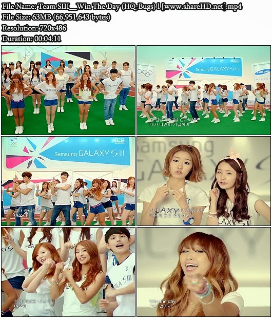 Download MV Team SIII - Win The Day (HQ-Bugs)