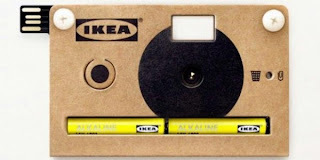 Ikea Knappa, Kamera Kardus Untuk 40 Kali Memotret [ www.BlogApaAja.com ]