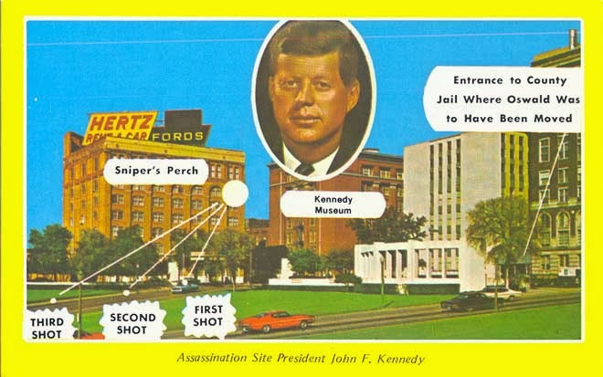 the events during and after president kennedys assassination