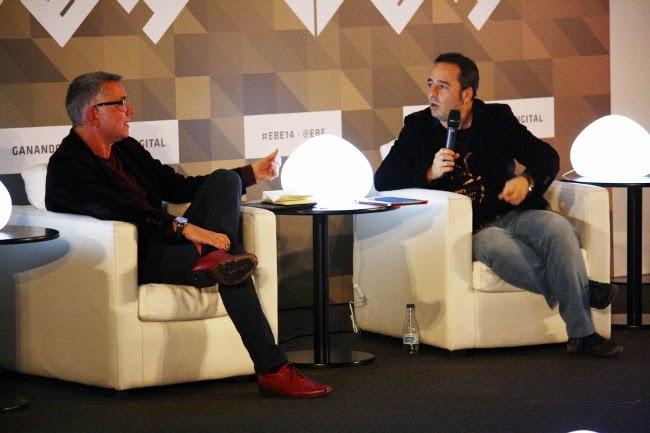 Juan Ramón Lucas y Pablo Herreros.