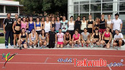 Primera Concentración femenina 2012