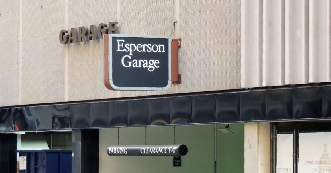 Houston In Pics Esperson Garage