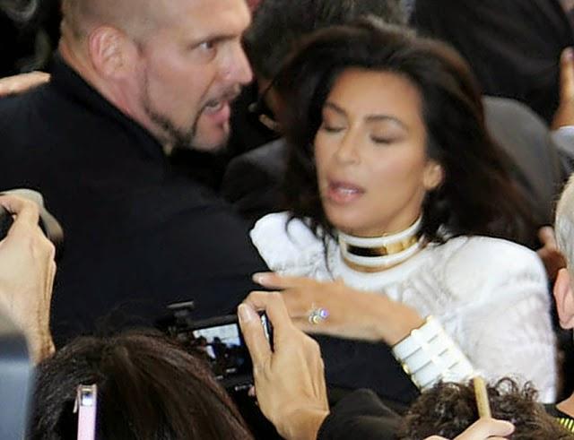 Kim Kardashian en la semana de la moda de París